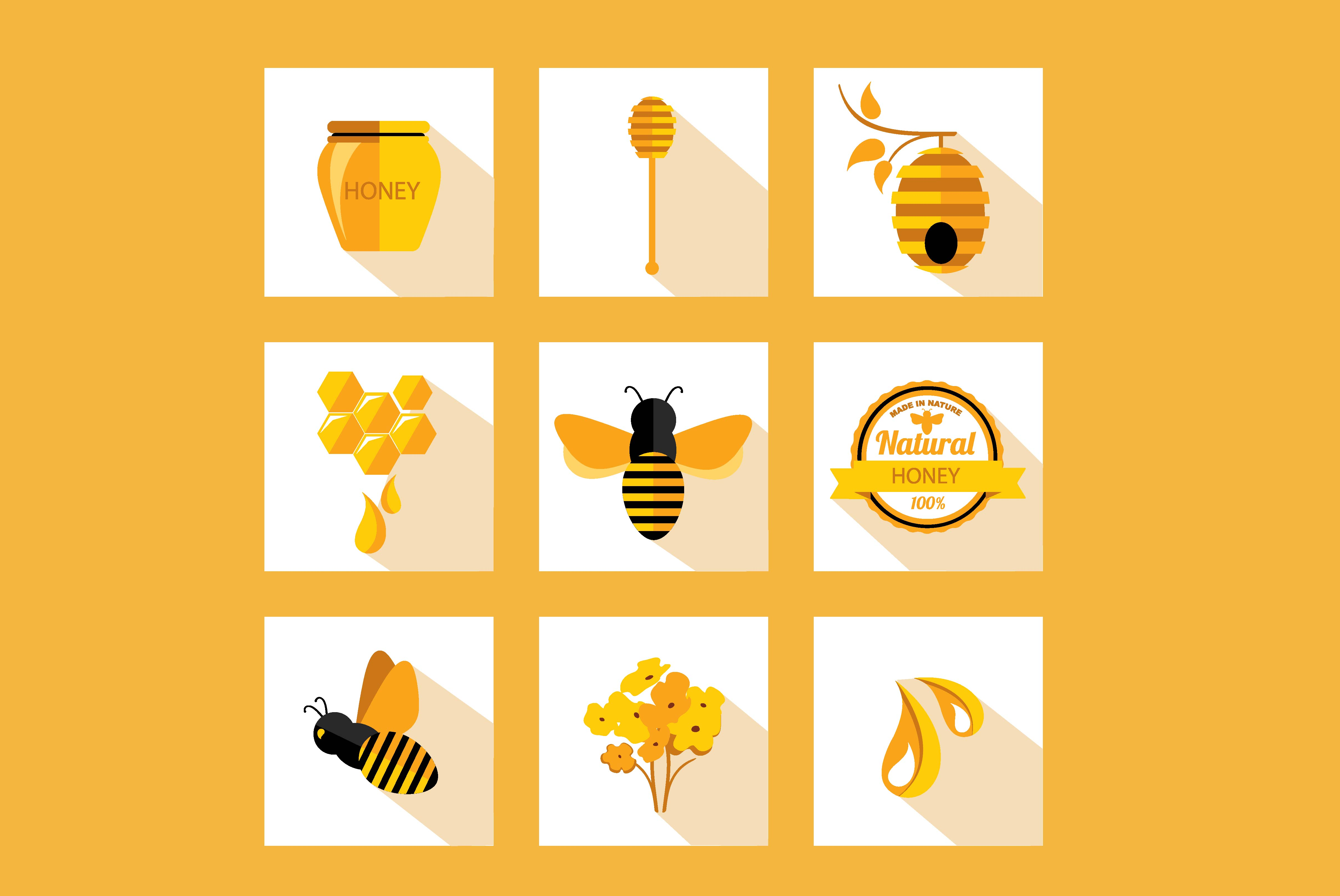 9 icons honey u0026bee