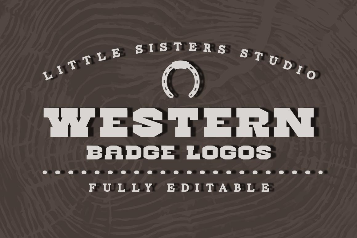 Organic Beauty Products >> Western Logos ~ Logo Templates on Creative Market