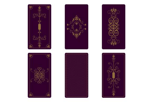 Vector Ornament For Tarot Cards Textures On Creative Market