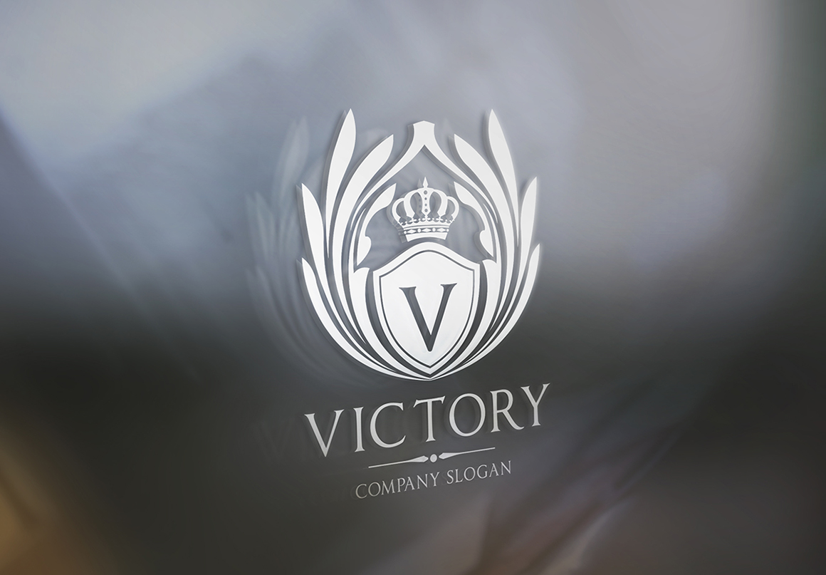 Victory Logo Template ~ Logo Templates on Creative Market