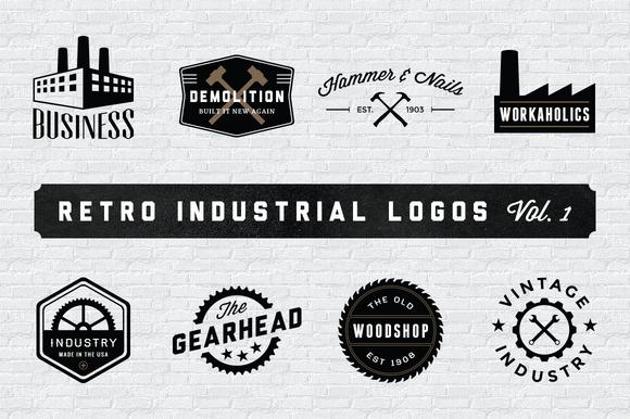 Индустриальный логотип