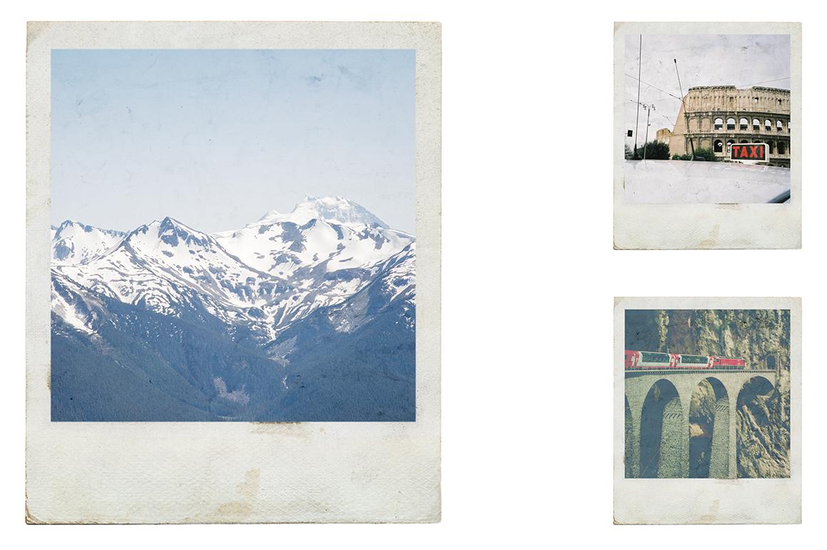 Efeito Photoshop: Free Polaroid Frames Psd |Old Polaroid Photoshop
