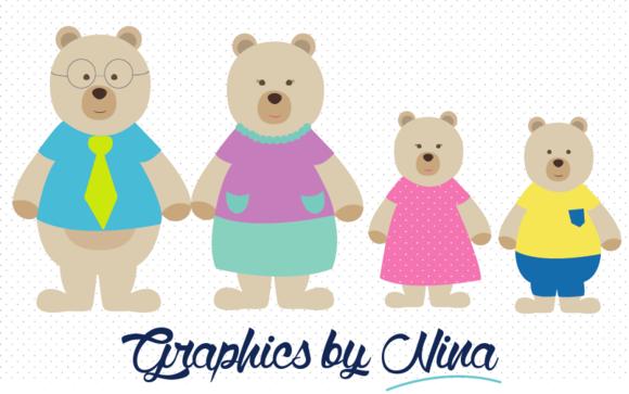 free clip art bear family - photo #10