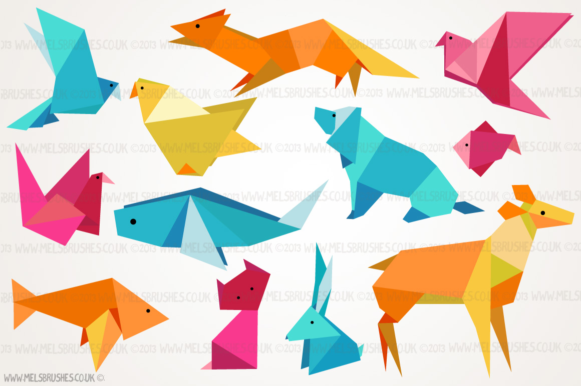 Origami Animal Illustrations ~ Illustrations on Creative Market