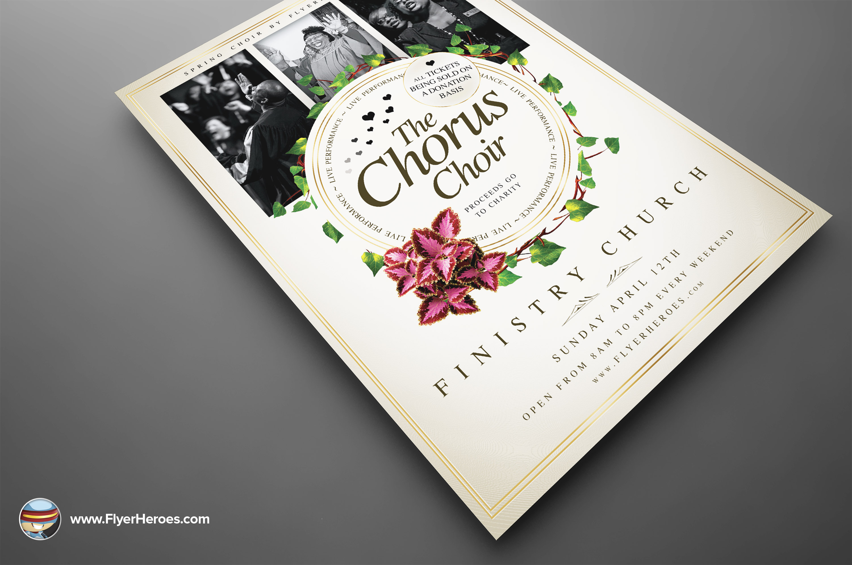 Pics Photos - Choir Program Template