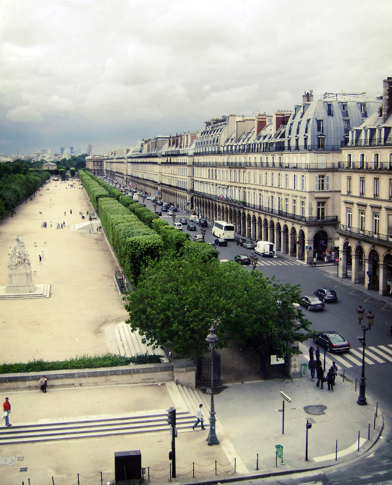 Jardin des tuileries paris architecture photos on for Architecture jardin