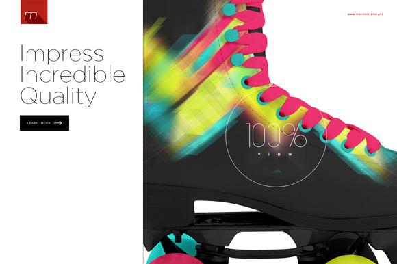 Roller Skates Mock-up