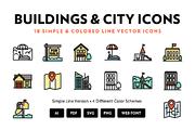 City Line Icons-Graphicriver中文最全的素材分享平台
