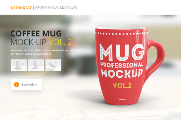 Coffee Mug Mockup vol.2 - Product Mockups