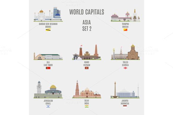 World Capitals Asia # 2
