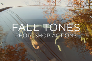 Fall Tones Photoshop Actions