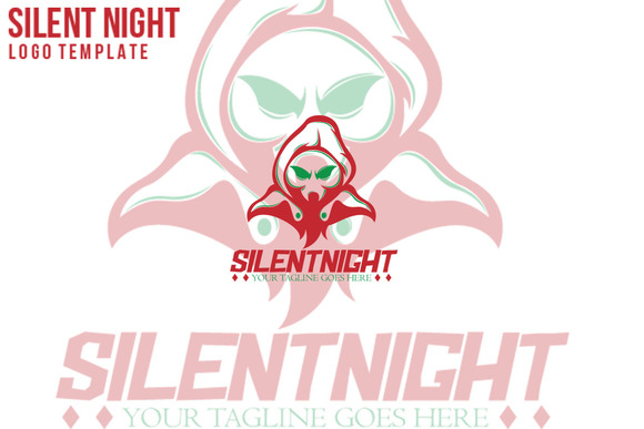 Silent Night Logo Template