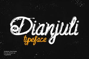 Dianjuli Typeface