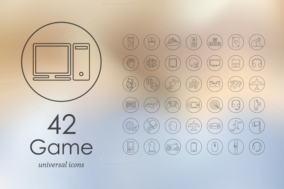 42 Game Icons