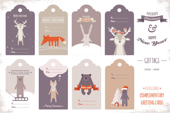 Cute Tags: Graphics On Creative Market