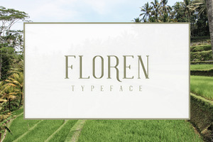 FLOREN TYPEFACE
