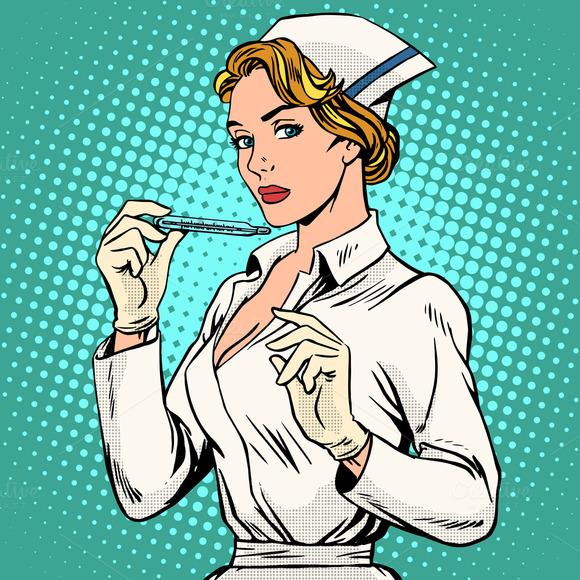 High Temperature Nurse Thermometer