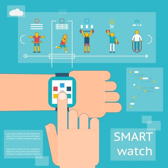 Smart watch fitness tracker ~ Graphics on Creative Market