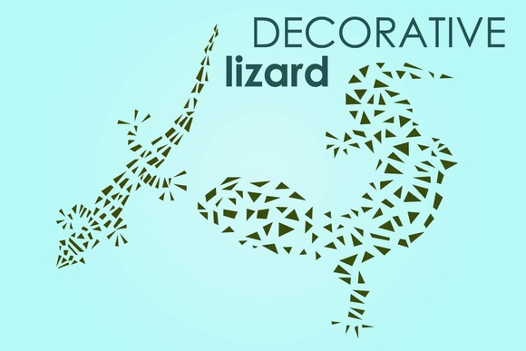 Lizard Decorative