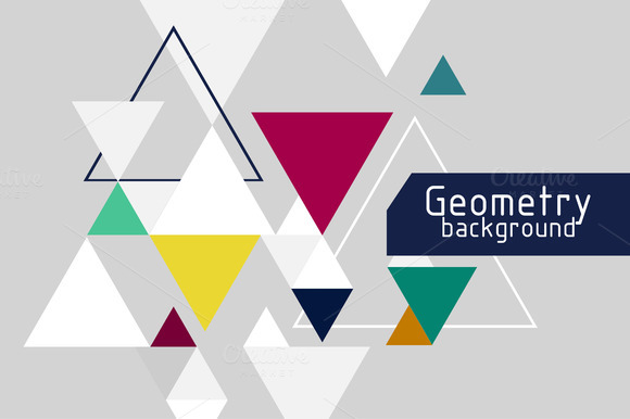 Vector Backgrounds With Triangle