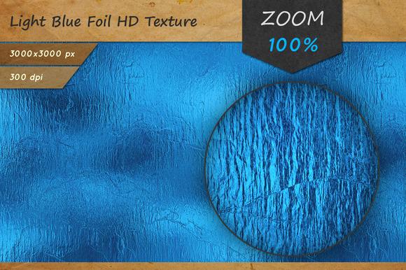 Light Blue Foil Tileable HD Texture