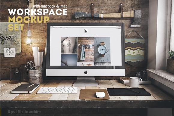 Workspace Mockup Set 2