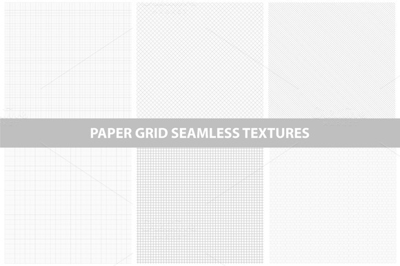 Paper textures. Seamless collection. - Textures