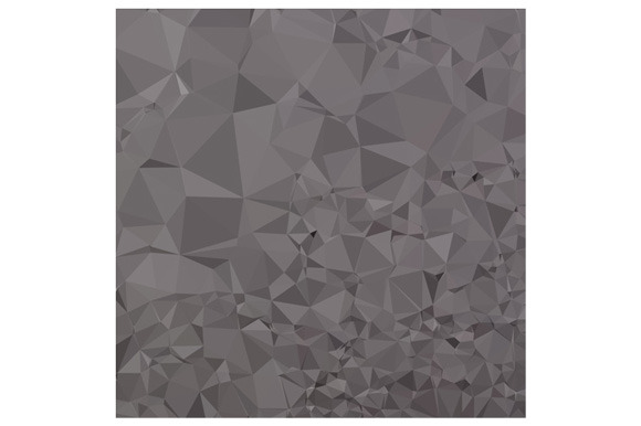 Trolley Grey Abstract Low Polygon Ba