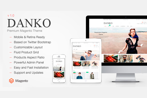 Danko Multipurpose Magento Theme