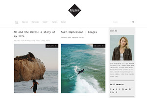 Hang Loose - WordPress Blog Theme