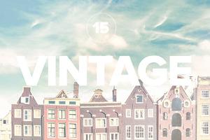 Premium Colorful Vintage PS Actions