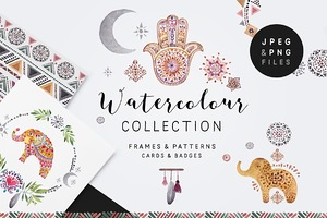 Peace&Love (watercolour collection)