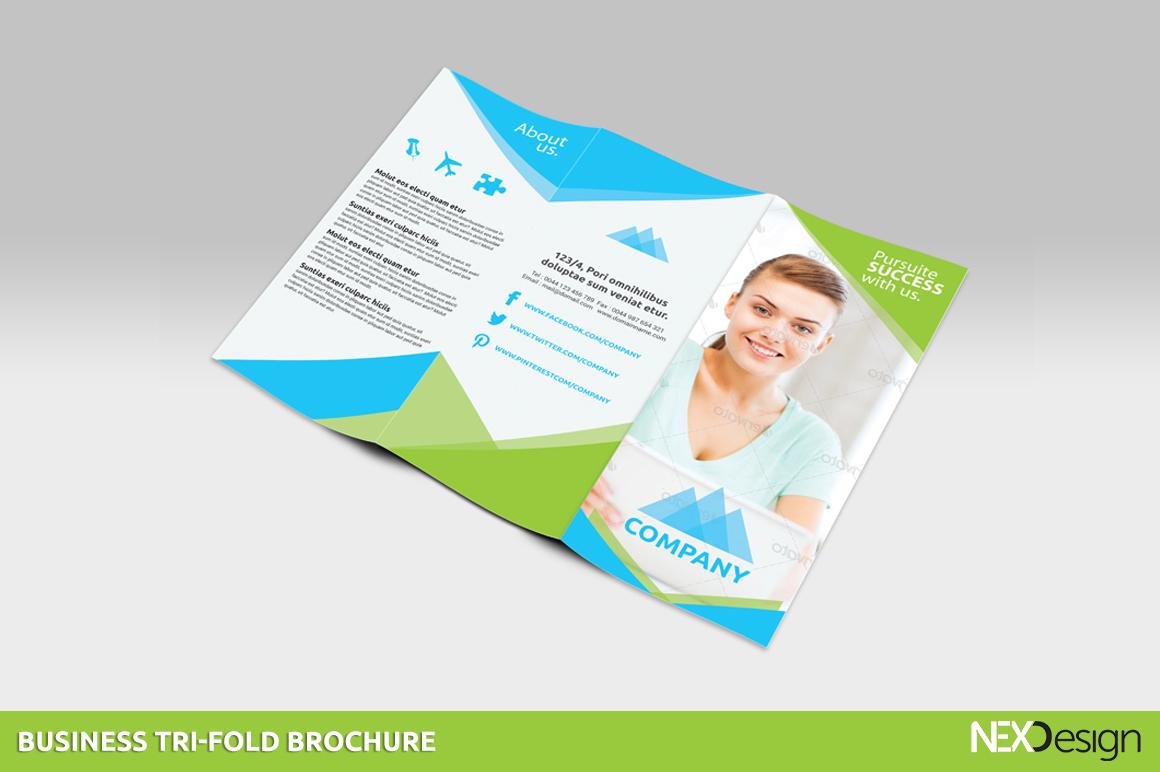 business tri-fold brochures