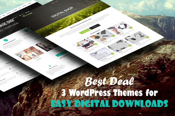 December Deal – 3 WP Themes for EDD