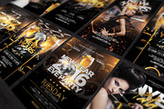 5 New Years Flyers Bundle -Graphicriver中文最全的素材分享平台
