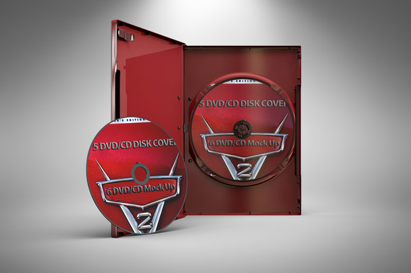 DVD CD Mock Up