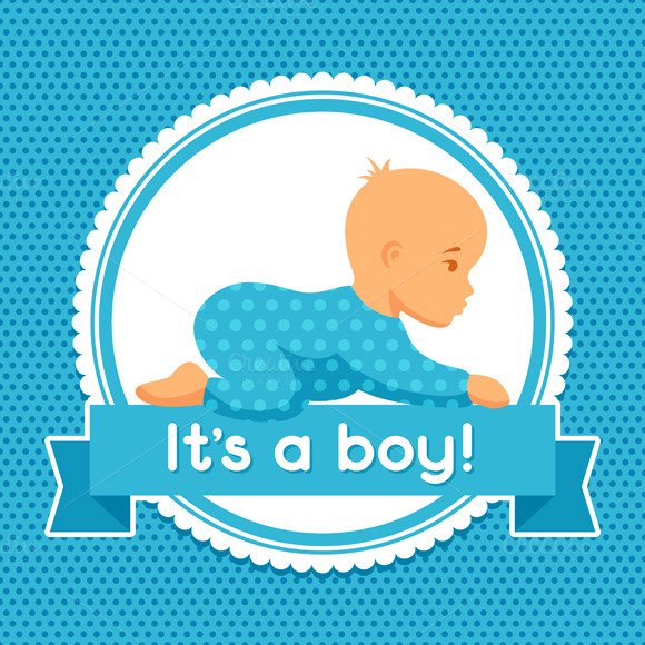 It Is A Boy Baby Shower Invitations