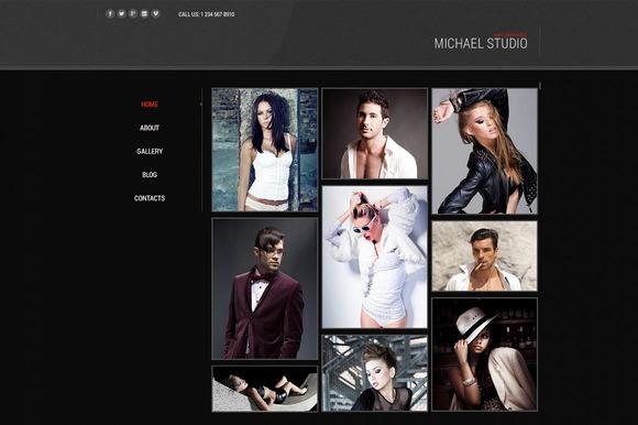 Michael Studio - Joomla Theme - Joomla