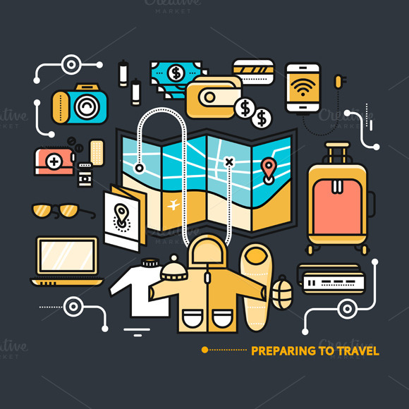 Preparing Travel Necessary