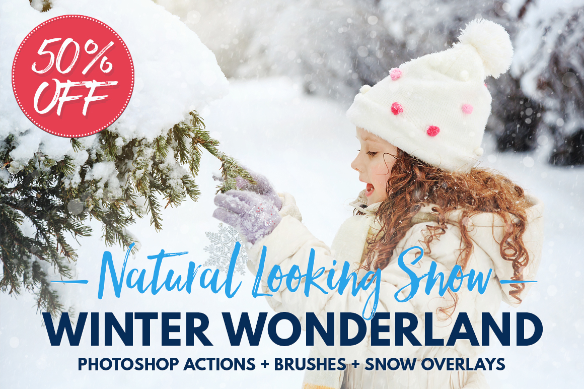 how to add a snow effect photoshop