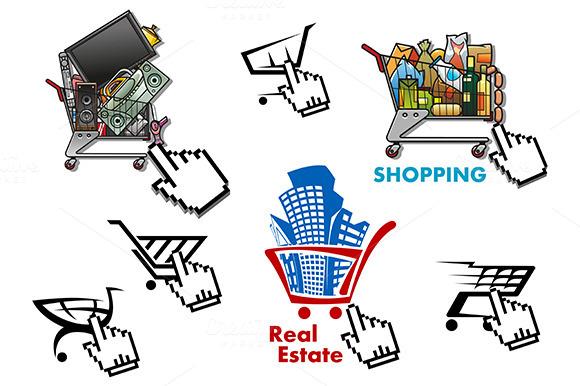 Internet Market Store Shop Design