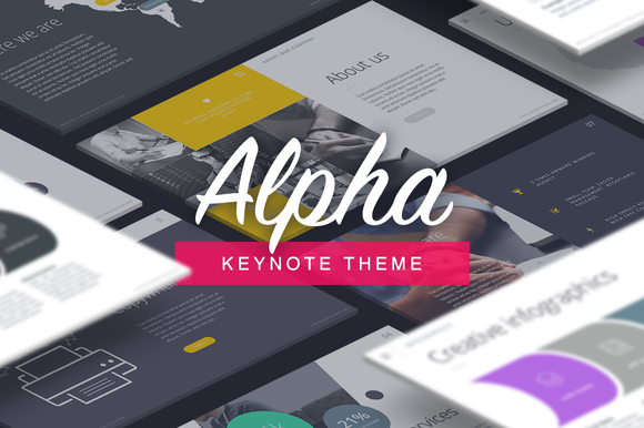Alpha - Keynote Template
