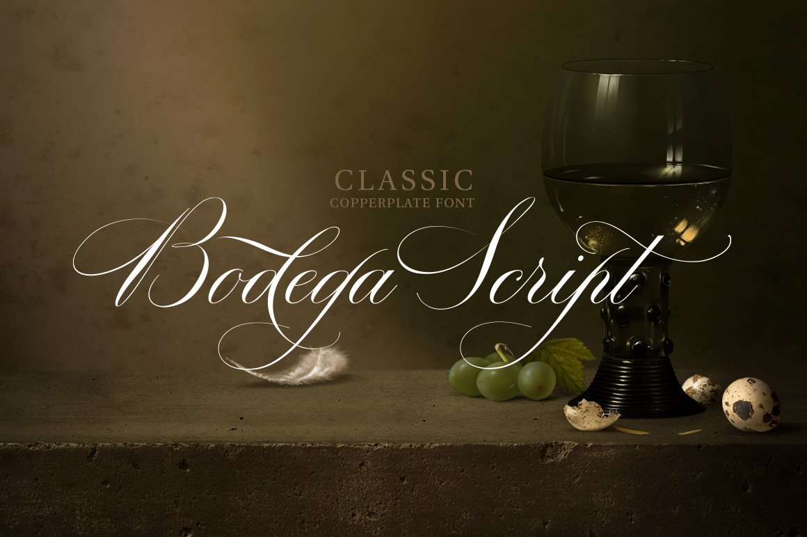 Bodega Script Script Fonts On Creative Market