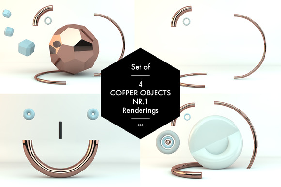 Copper Objects Nr.1 - Graphics