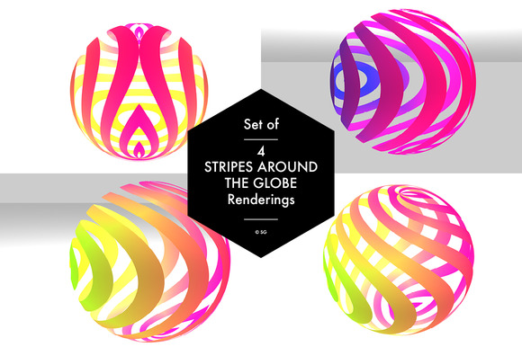 Stripes Around The Globe