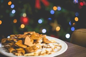Christmas Sweets with Christmas Tree