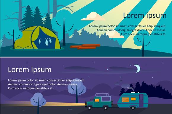 Banner Landscape Nature