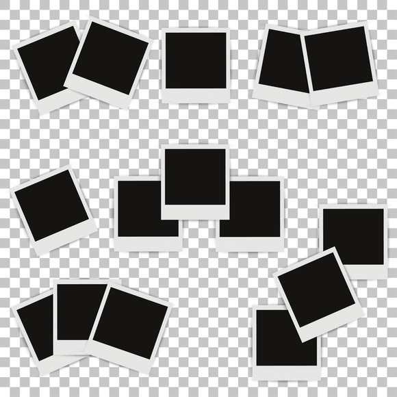 Set Of Different Photo Frames