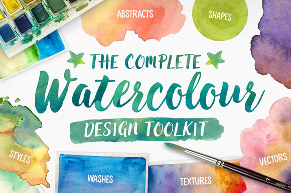 Complete Watercolour Design Toolkit
