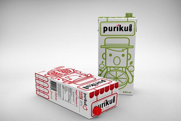 Milk Carton Mockup 1